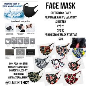 Accessories - Face Mask